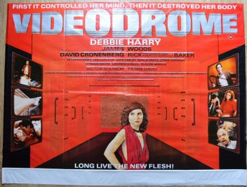 Videodrome UK Quad Poster